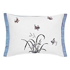 V & A - Multicoloured 'Butterfly Garden' cushion