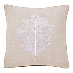 Sanderson - Natural linen and cotton Options 'Chestnut Tree' cushion
