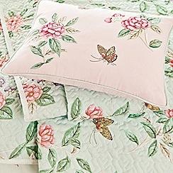 V & A - Pink 'Chinoiserie' cushion