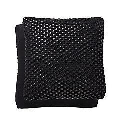 Hotel - Dark grey cotton 'Coi' cushion