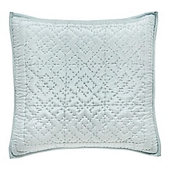 Fable - light blue 'Charbagh' cushion