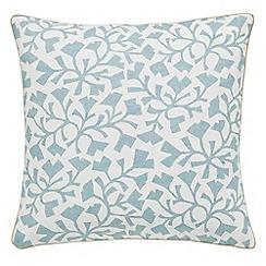 Sanderson - Light blue 'Dawn Chorus' cushion