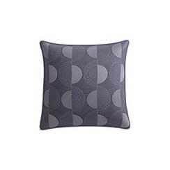 Helena Springfield - Purple cotton sateen 'Etta' cushion