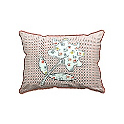 Helena Springfield - Light red polycotton 'Eva' cushion
