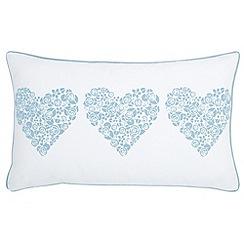 Julie Dodsworth - Blue 'Fledgling' cushion