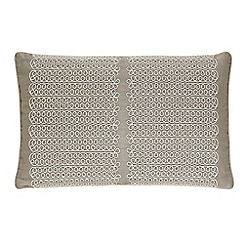 Harlequin - Taupe 'Florence' cushion