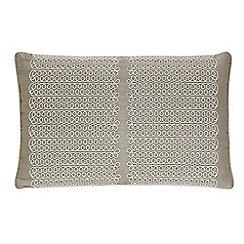 Harlequin - Taupe 'Florence' cushion