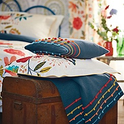 Harlequin - Multi 'Caspia' cushion & throw