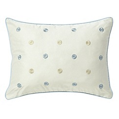 Sanderson - Blue 'Hana' cushion