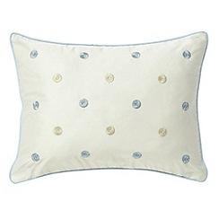 Sanderson - Blue 'Hana' cushion