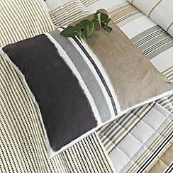 Helena Springfield - Taupe 'Regatta' cushion