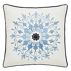 Echo - dark blue 'Jakarta' cushion