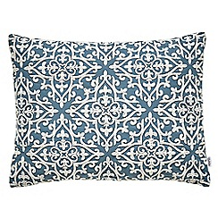Fable - blue 'Kalim' cushion