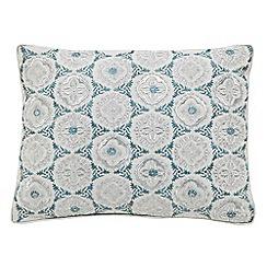 Bedeck - Silver 'Kasima' cushion