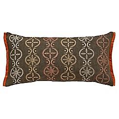 Bedeck - Brown 'Kaveri' cushion