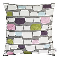 Scion - Light green cotton panama 'Lohko' cushion