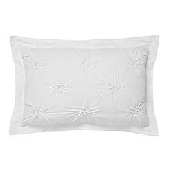 Bedeck - White 'Melodie' cushion