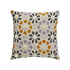 Bedeck 1951 - Multicoloured cotton 'Minoa' cushion