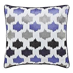 Bedeck - Silver 'Miramar' cushion