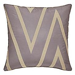 Harlequin - Mauve polyester 'Moriko' cushion