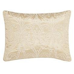 V & A - Light cream 'Moresque' cushion