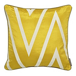 Harlequin - Silver 'Moriko' cushion