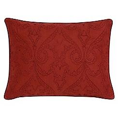 V & A - Red brick 'Moresque' cushion