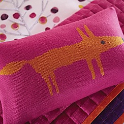 Scion - Cerise 'Mr Fox' cushion