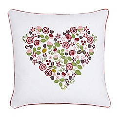 Julie Dodsworth - Pink 'Mary Rose' cushion