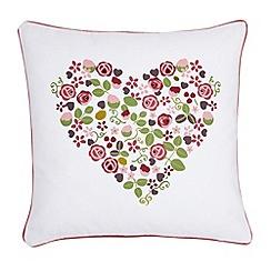 Julie Dodsworth - Pink 'Mary Rose' cushion