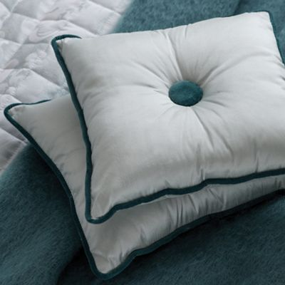 Bedeck Aqua ´Natalia´ cushion & throw - . -