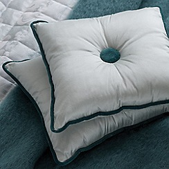 Bedeck - Aqua 'Natalia' cushion & throw
