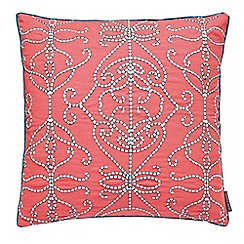 Harlequin - multicoloured 'Papilio' cushion