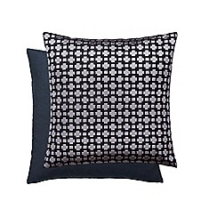 Hotel - Dark grey cotton 'Paradis' cushion