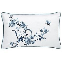 Sanderson - Blue 'Primrose Hill' cushion