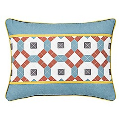 V & A - multicoloured 'Pompeii' cushion