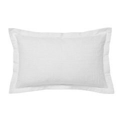 Bedeck - White 'Radiance' cushion