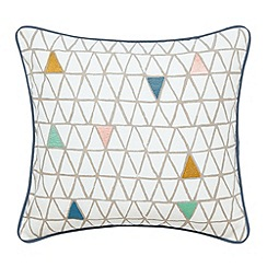 Scion - Multi 'Raita stripe' cushion