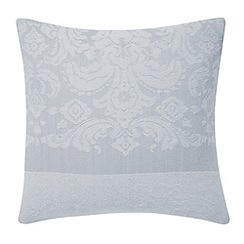 Bedeck - Grey 'Repose jacquard' cushion
