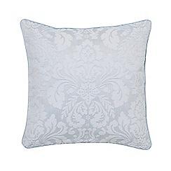 Sanderson - Blue cotton rich 'Richmond' cushion