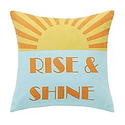 Helena Springfield - Multi 'Rise & Shine' cushion