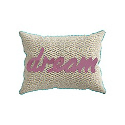 Helena Springfield - Light green polycotton 'Roxy' cushion