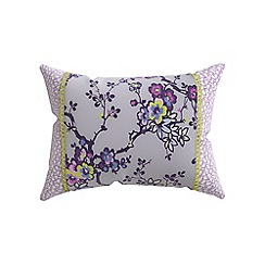 Helena Springfield - Purple polycotton 'Sally cushion