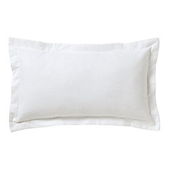 Bedeck - White 'Sanctuary' cushion