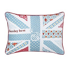 Julie Dodsworth - Blue 'Sunday Best' cushion