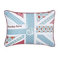 Julie Dodsworth - Blue 'Sunday Best' cushion