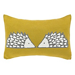 Scion - Mustard 'Spike' cushion