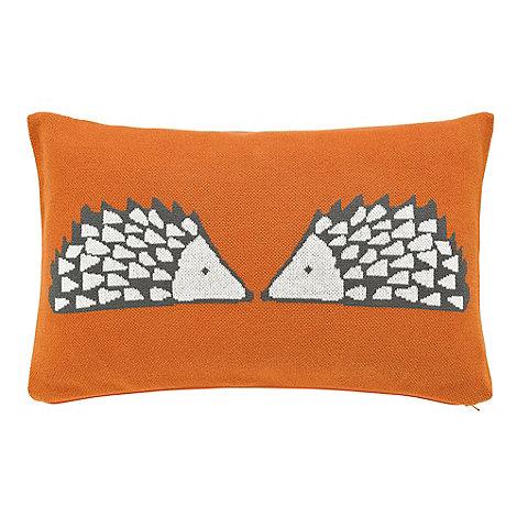 Scion - Dark orange +Spike+ cushion