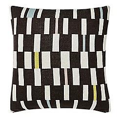 Scion - Grey cotton 'Sula' cushion