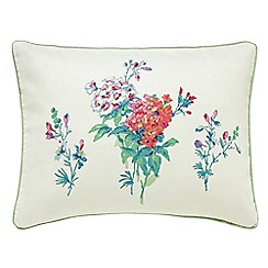 Sanderson - Multicoloured 'Sweet Williams' cushion